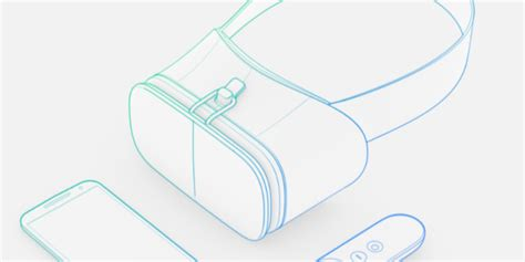 Headset X Tech 380 google s daydream view vr headset is smartphone powered