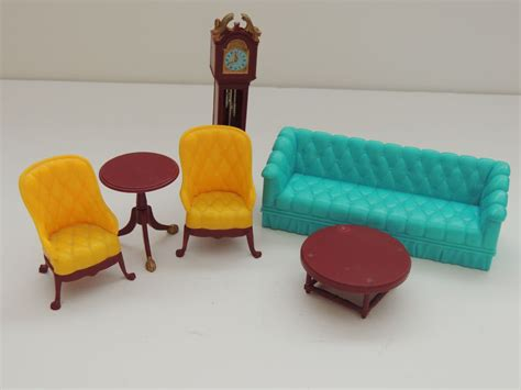 dolls house living room furniture marx living room doll house furniture sold on ruby