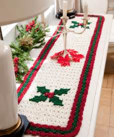table runner crochet pattern
