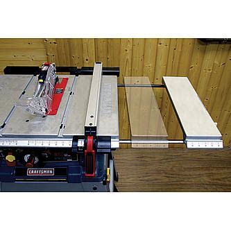 table saw with laser craftsman 10 quot table saw with laser trac
