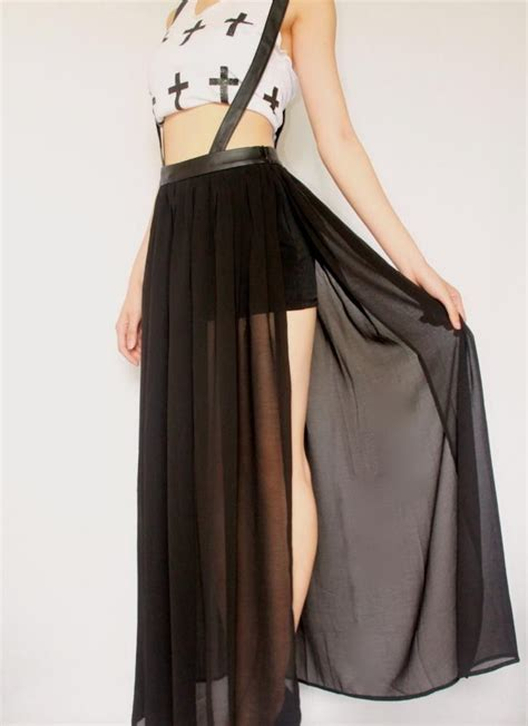 black chiffon maxi skirt 100 images guess by best 25 overall skirt ideas on overall skirt denim jumper skirt overall and