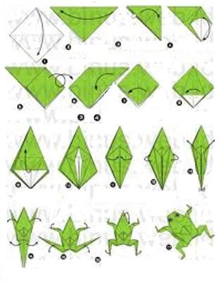Origami Frog Directions - origami frog make origami easy