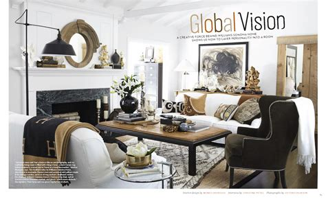 pottery barn home a globally inspired california home as seen in house