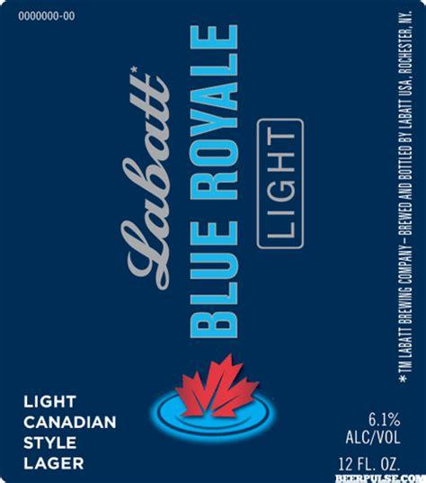 labatt blue royale light beerpulse