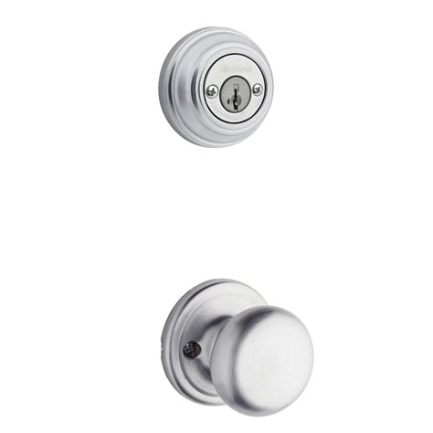 kwikset door handle 100 kwikset interior door knobs glass shop kwikset hancock 1 3 4 in satin chrome smartkey double