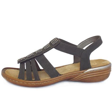 comfortable gladiator sandals rieker sardinia women s comfortable gladiator style