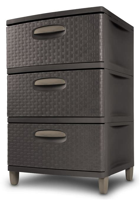 Sterilite 3 Drawer Unit by H531 Sterilite 3 Drawer Weave Unit 0198 Credit