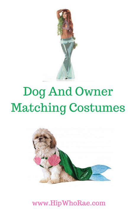 puppy match matching and owner costumes hip who beds and costumes
