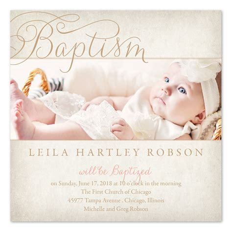 free template baptism invitation baptism invite template best template collection