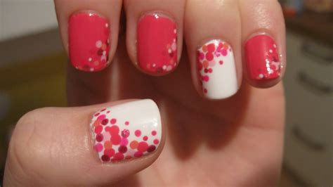 With Nails by Stunning Pink White Nails Designs Ideas Fmag