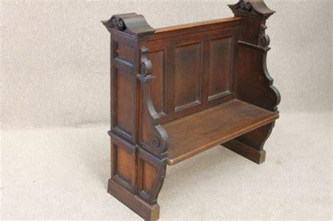 oak pew bench victorian oak pew bench antiques atlas