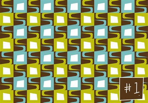 mid century patterns free mid century pattern 1 download free vector art