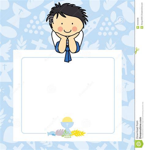 clipart prima comunione prima comunione ragazzo illustrazione vettoriale