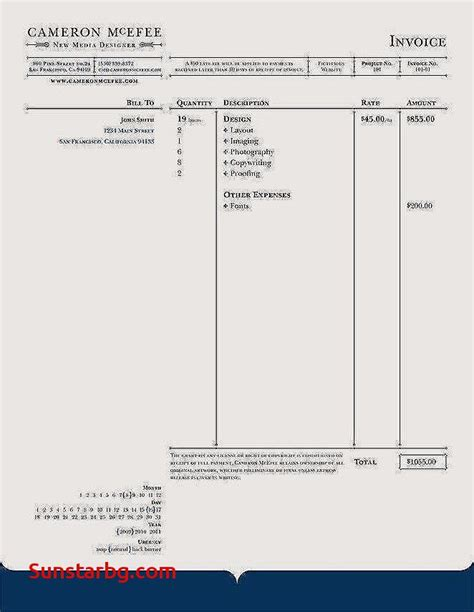 Business Templates Free Just Fill In Invoice Template For Fill In The Blank Invoice
