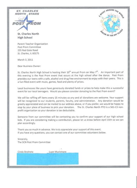 business letter asking for donations raffle donation letter template images cv