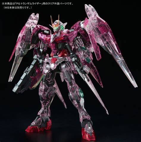 Pg 00 Raiser Gundam Bandai bandai 00十週年 限定 pg 1 60 gundam 00r trans am raiser clear