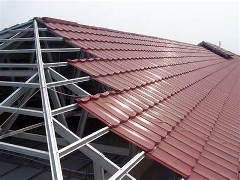 Atap Rumah Multiroof 9 cara merakit rangka atap baja ringan demo