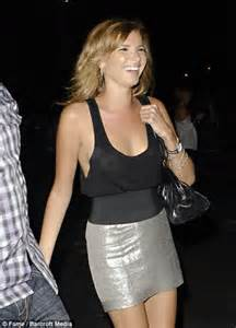 acensored celeb braless nadine coyle steals the show at kings of leon gig