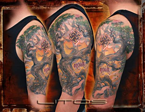 bodhi tree tattoo bodhi tree by litos tattoos