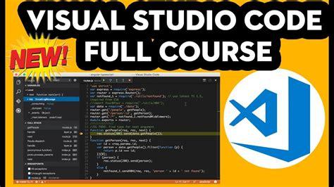 visual studio tutorial in urdu pdf visual studio code full course in hindi urdu youtube
