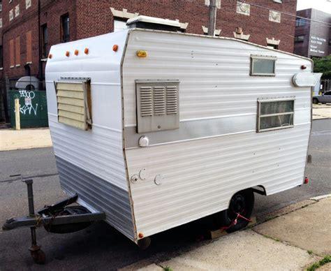 Rv Awning Lights Exterior Vintage Rv 1971 Shasta Compact Camper For Sale