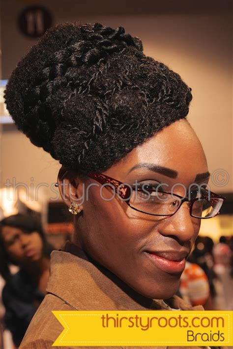 braided hairstyles black 2014