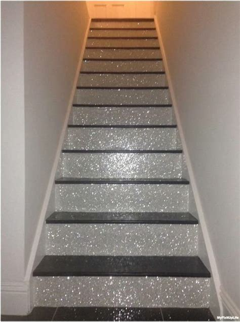 glitter wallpaper stairs join hossdesign home chat how to glitter like a grown up