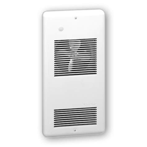 stelpro arwf1002w stelpro 1000w recessed wall fan heater