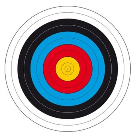 printable nfaa targets printable archery targets 20 yards pictures to pin on