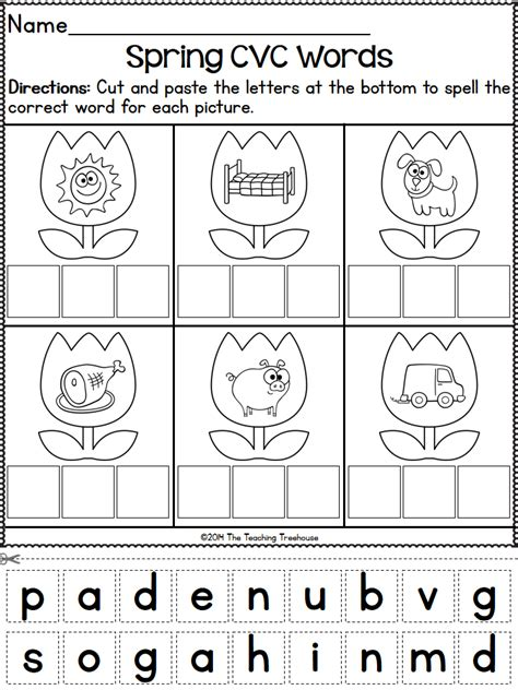 kindergarten pattern standards spring kindergarten pack print go no prep ccss