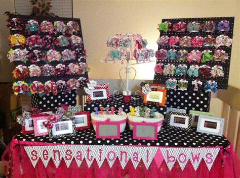 the craft fair vendor guidebook ideas to inspire books 17 best ideas about bow display on hair bow