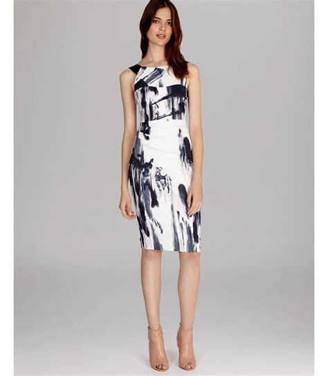 Be Bold With The Creta Dress From Connection by Millen Dress Bold Graphic Print In White Black