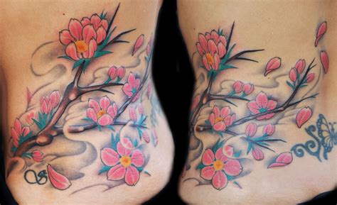 blossom tree tattoo cherry blossom tree branch by diego tattoonow