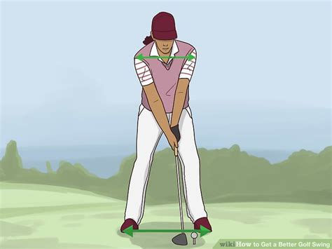 better golf swing how to get a better golf swing 14 steps with pictures