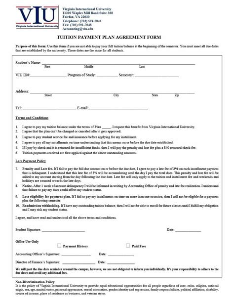 payment agreement contract payment agreement 40 templates contracts template lab