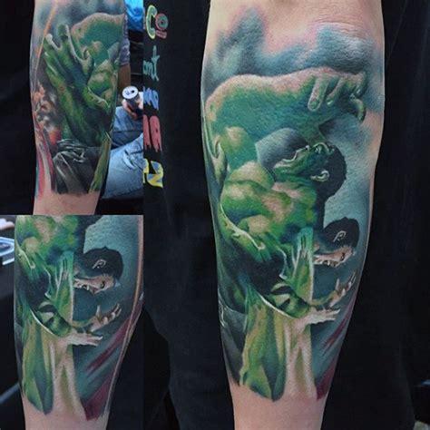 incredible hulk tattoo designs 100 tattoos for gallant green design