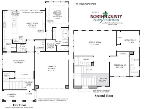 Robertson 100 Floor Plan by The Ridge At Robertson Ranch Floor Plans New Homes In