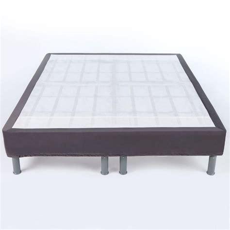 bed foundation queen comfort revolution 14 in steel queen size mattress