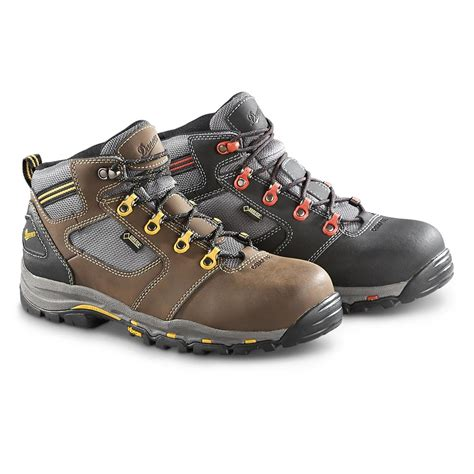 safety toe work boots danner vicious tex waterproof safety toe work boots