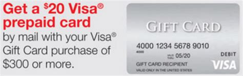 visa gift card fine print staples 20 visa rebate with 300 in visa gift card