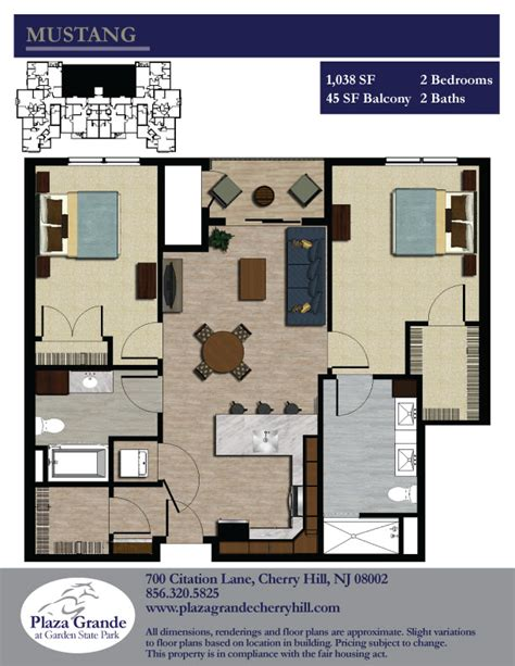 28 garden state plaza floor plan floor plans the