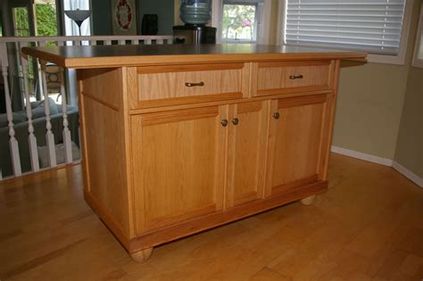 kitchen island oak oak kitchen island by jim lumberjocks com