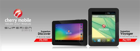 new tablet mobile two new superion tablets from cherry mobile discover and