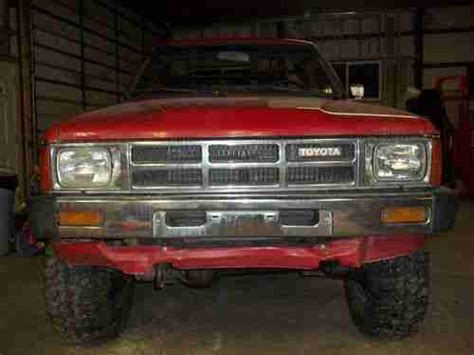 1985 Toyota Front Axle Find Used 1985 Toyota 4runner Western Truck Axle
