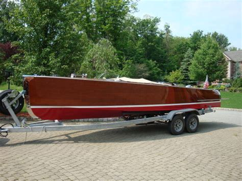 chris craft reproduction boats brand new reproduction antique chris craft runabout 1000