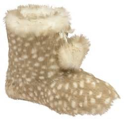 yeti slippers dunlop slippers boots faux fur womens ankle yeti