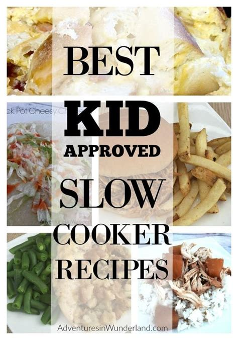 40 easy slow cooker recipes for busy nights best crock kid activities crock pot recipes and kid on pinterest
