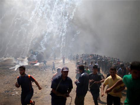 Palestine Gaza 52 palestinian protesters killed gaza officials say as u s opens jerusalem embassy kut