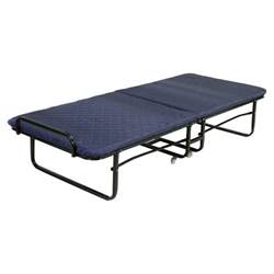 Roll Away Folding Bed Folding Bed Foam Mattress Roll Away Guest Portable Sleeper Cot Navy New Ebay