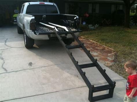 boat lift truck mr bojangles truck bed ski launch system jet ski